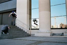 Les Skaters casse-cous de Barcelone par Lewis Sharman