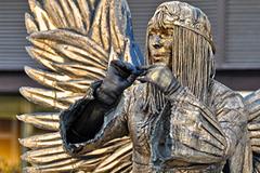 Statue Viventi Las Ramblas