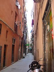 Una calle en El Born