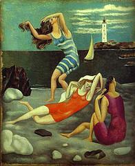 Picasso: Los bañistas