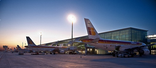 Aiport Barcelona T1 by Iberia Airlines