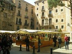 Mercadillo del Gotico, Image Flickr de Habladorcito