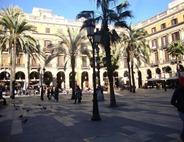Plaza Reial in El Gotico