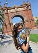 l'Arco di Trionfo di Barcellona di Iryna Munteanu