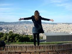 Vista su Barcellona di Marina Biancardi