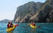 Kayak non loin de Barcelone