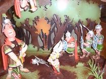 Astrix en Obelix in chocolade