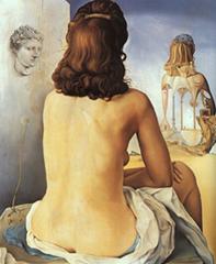 portret van Gala door Dali
