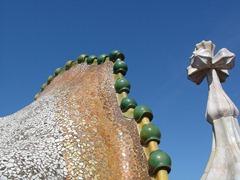 Casa Batlló roof by A. Gaudí
