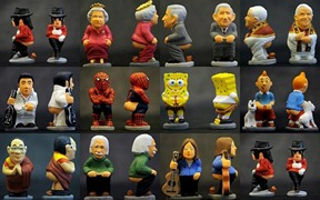 Caganer by wiki commons